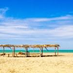 Beautiful tropical beach in the coast of ecuador — Stock Photo #52637805