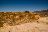 Eroded ridges in death valley national park — Stock Photo