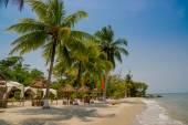 Beach livingston guatemala — Stock Photo
