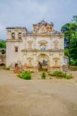 Facade of the former El Carmen church — Stock Photo