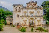 Facade of the former El Carmen church — Stockfoto