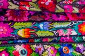 Traditional mayan textiles — Stock Photo