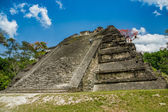 Tikal maya ruiner i guatemala — Stockfoto