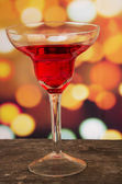 Cocktails on a table in bar — Stockfoto