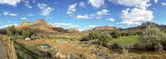 Zion national park utah panorama — Stock Photo