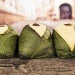 Quimbolitos ecuadorian traditional dessert — Stock Photo #56423769