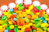 Sweets candy caramel colorful texture — Stok fotoğraf