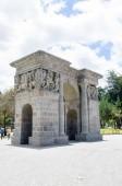 Cricasiana Arch in Quito Ecuador South America — Stok fotoğraf