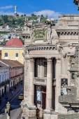 Old central bank in Quito Ecuador South America — Stock Photo