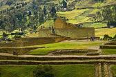 Ingapirca important inca ruins in Ecuador — Stock Photo