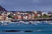 Picturesque coastland in San Cristobal island, Galapagos — Stock Photo