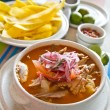 Encebollado, fish stew, typical ecuadorian dish. — Stock Photo #70536233