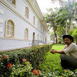 Urban architecture zone in the Parque Historico, cultural and educational park, Guayaquil — Stock Photo #70536613