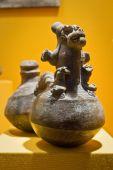 Exhibition from Archeological Museum in Manabi, Ecuador — Stock Photo