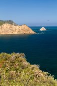 Beautiful landscape of Los Frailes beach in Machalilla National Park, Ecuador — Stock Photo