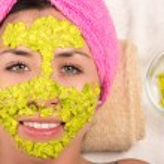 Woman facial treatment spa — Stock Photo #76574777