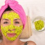 Woman facial treatment spa — Stock Photo #76574825
