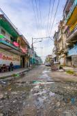 Colon centre has become a notorious crime hot spot, most government agencies have issued stern warnings about travel to the city — Stock Photo