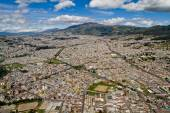 Aerial photo of Quito, Ecuador — Stock Photo