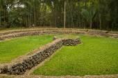 Tulipe Archaeological site museum, Ecuador — Stock Photo
