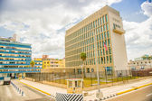 Havana. USA Embassy — Stock Photo