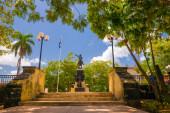 CAMAGUEY, CUBA - SEPTEMBER 4, 2015: Street view of UNESCO heritage city centre — Stock Photo