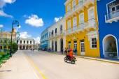 Санкти Спиритус, Куба - 5 сентября 2015: Латинский для Святого Духа. Это один из старейших кубинской европейских поселений. — Стоковое фото