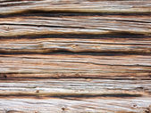 Old wood of house wall in Sweden — Stock Photo