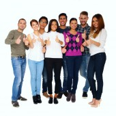Portrait of a group people — Stock Photo