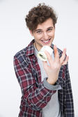 Handsome young man — Stock Photo