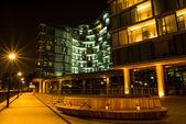 London Thames Southwark bank — Stock Photo