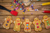 Gingerbread man — Stock Photo
