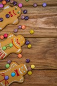 Zencefilli kurabiye adam — Stok fotoğraf