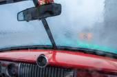 HAVANA, CUBA - MAY 31, 2013 Interior of old classic american car — Stock Photo