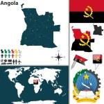 Постер, плакат: Map of Angola