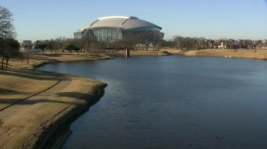 Dallas Cowboys Football Stadium Arlington — Video Stock