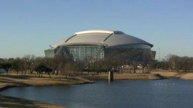 Dallas Cowboys Football Stadium — Stock Video