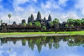 Angkor Wat Temple, Cambodia. — Stock Photo