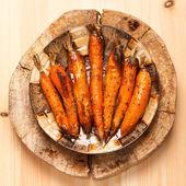 Roasted carrots — Stock Photo