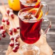 Traditional mulled wine with spices — Stock Photo #55897481