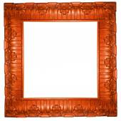 Beautiful carved frame — Zdjęcie stockowe