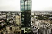 Green Skyscrapter — Stock Photo