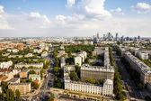Varşova havadan görünümü — Stok fotoğraf