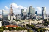 Centro de Varsovia — Foto de Stock