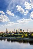 Warsaw downtown at afternoon — Foto de Stock