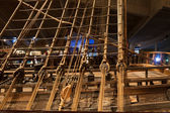 STOCKHOLM - JANUARY 6: 17th century Vasa warship salvaged from   — Stockfoto