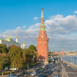 The Moscow Kremlin and the waterfront. Moscow. Russia — Stock Photo #53646827