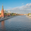 The Moscow Kremlin and the waterfront. Moscow. Russia — Stock Photo #53646835