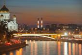 Moskvafloden — Stockfoto