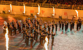 Exemplary Military Orchestra — Stock Photo